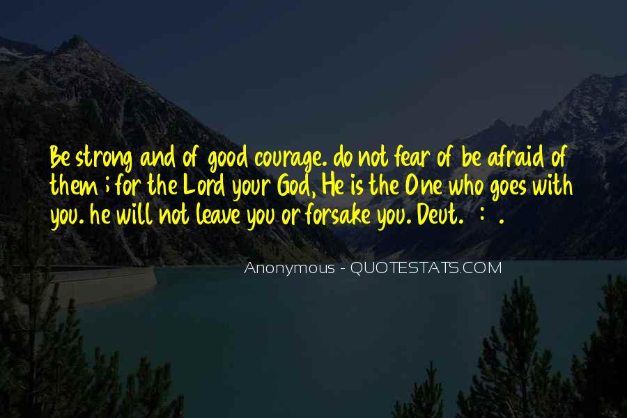 Quotes About Fear And God #127309
