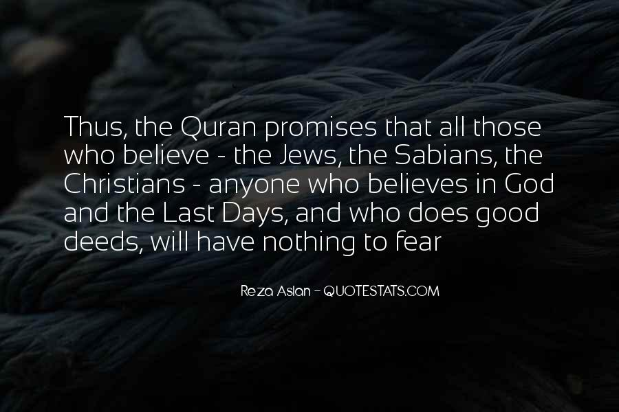 Quotes About Fear And God #149820