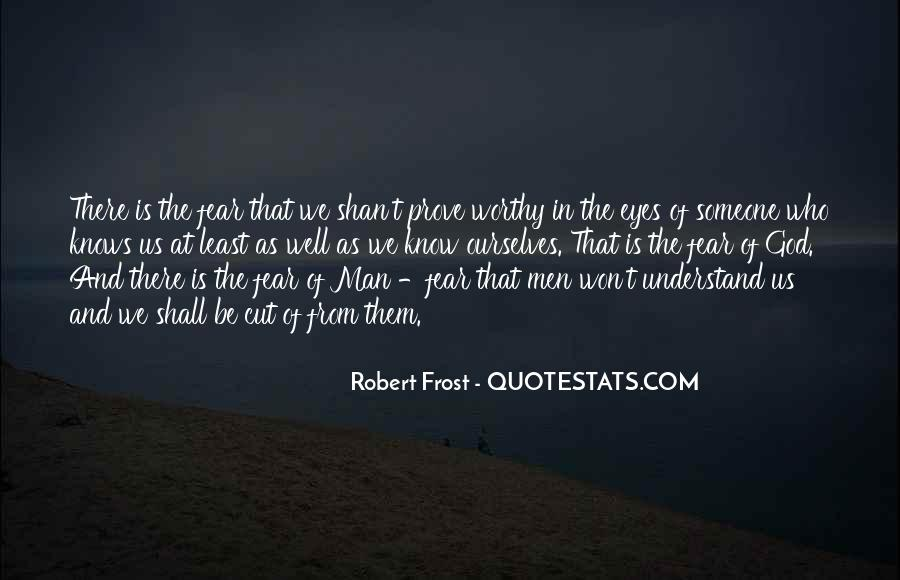 Quotes About Fear And God #17384