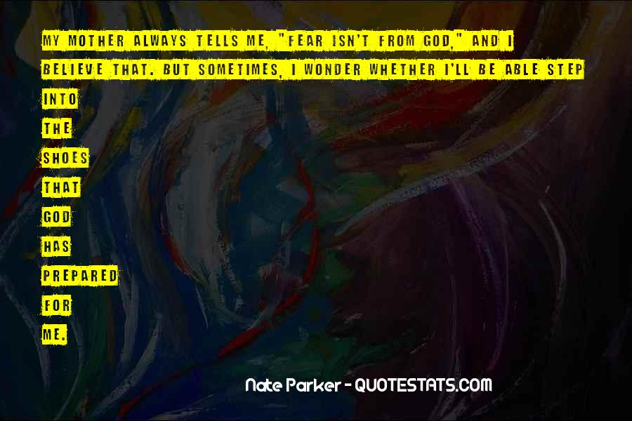 Quotes About Fear And God #174209