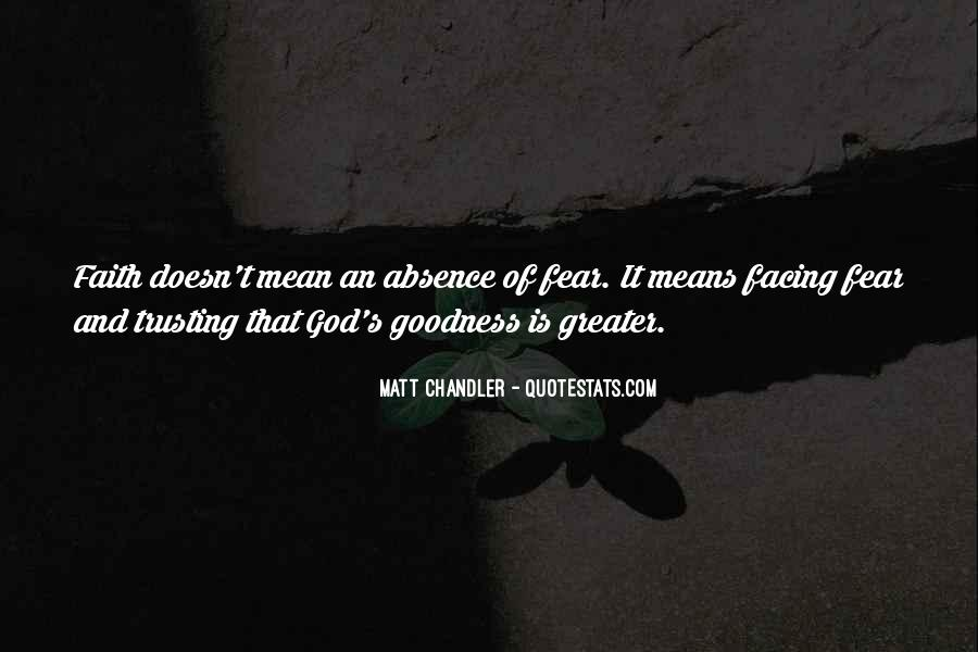 Quotes About Fear And God #185266