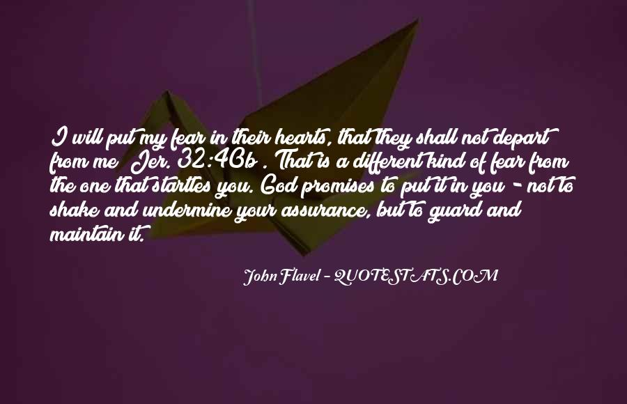 Quotes About Fear And God #187770