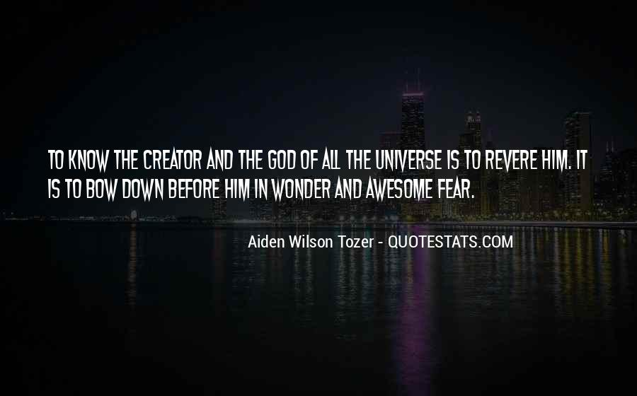 Quotes About Fear And God #226198