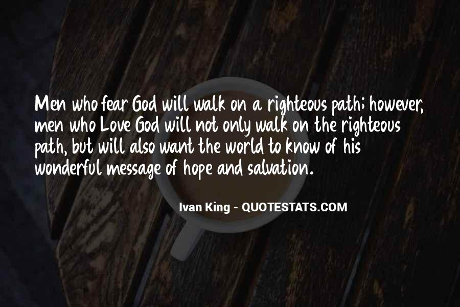 Quotes About Fear And God #234328