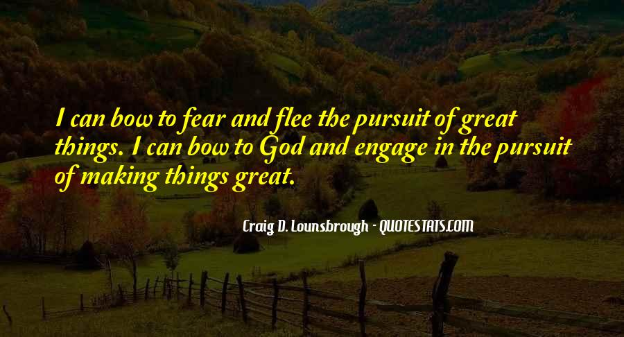 Quotes About Fear And God #243431