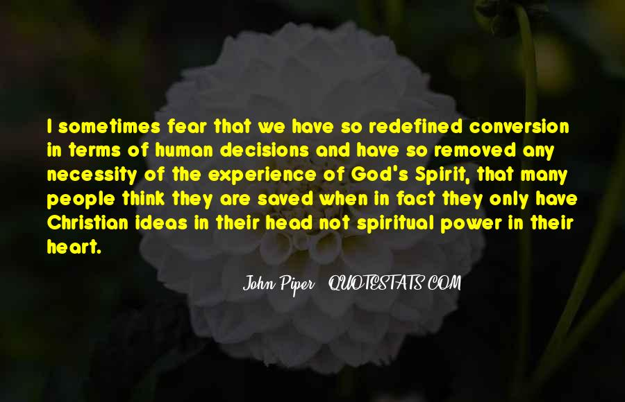 Quotes About Fear And God #246645