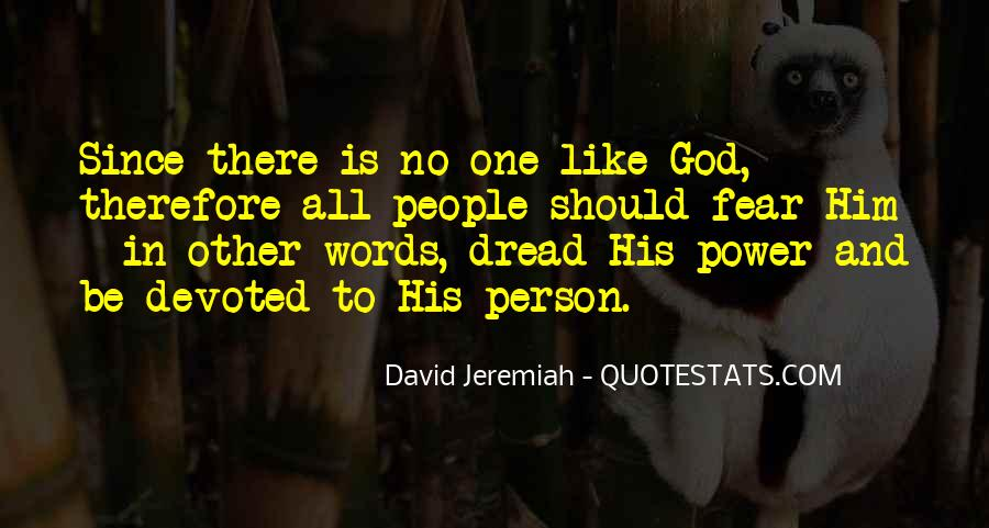Quotes About Fear And God #249859