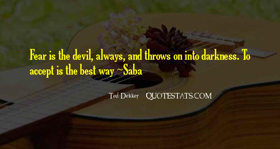 Quotes About Fear And God #251073
