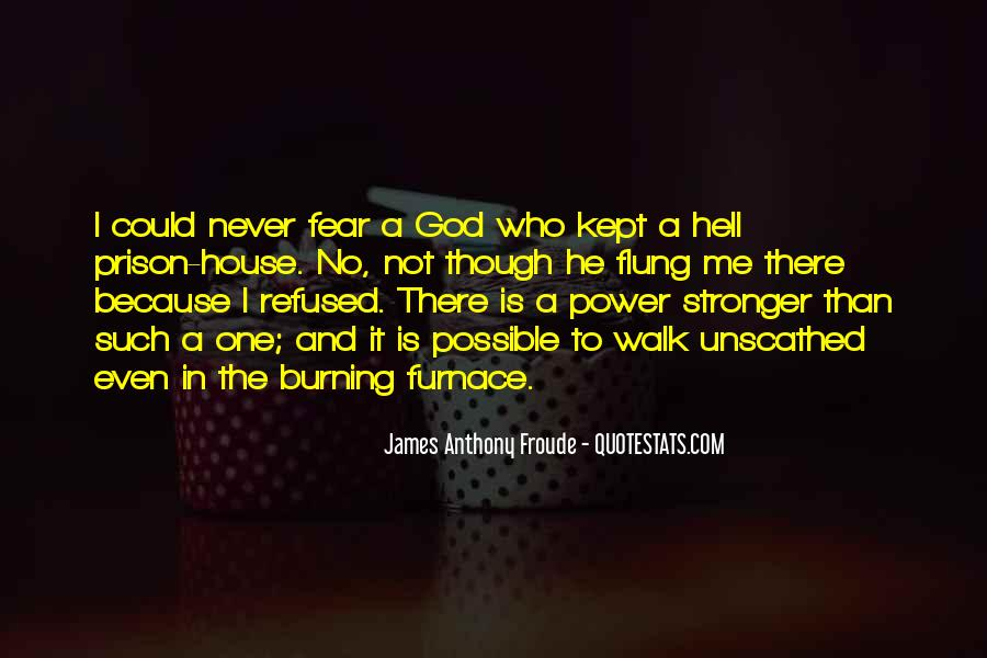 Quotes About Fear And God #269387