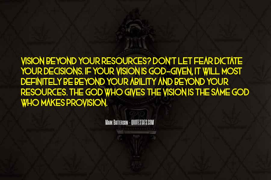 Quotes About Fear And God #299665
