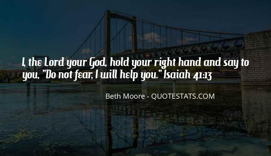 Quotes About Fear And God #307814