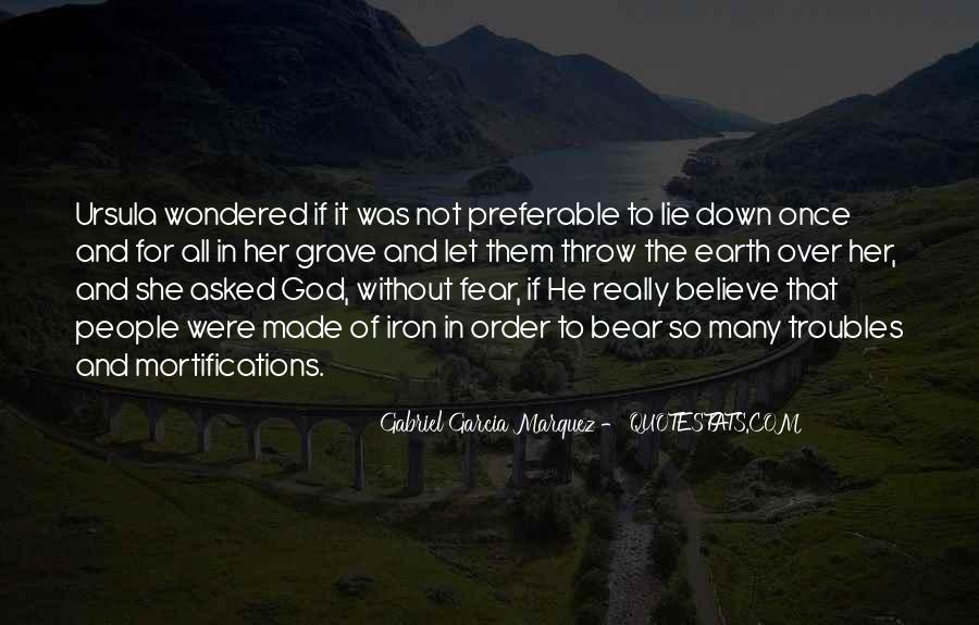 Quotes About Fear And God #311246