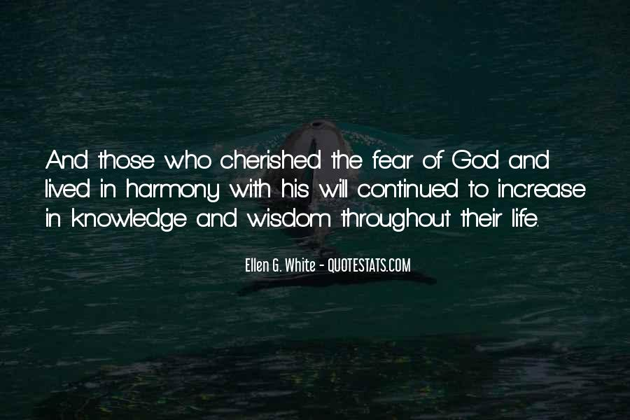 Quotes About Fear And God #324502