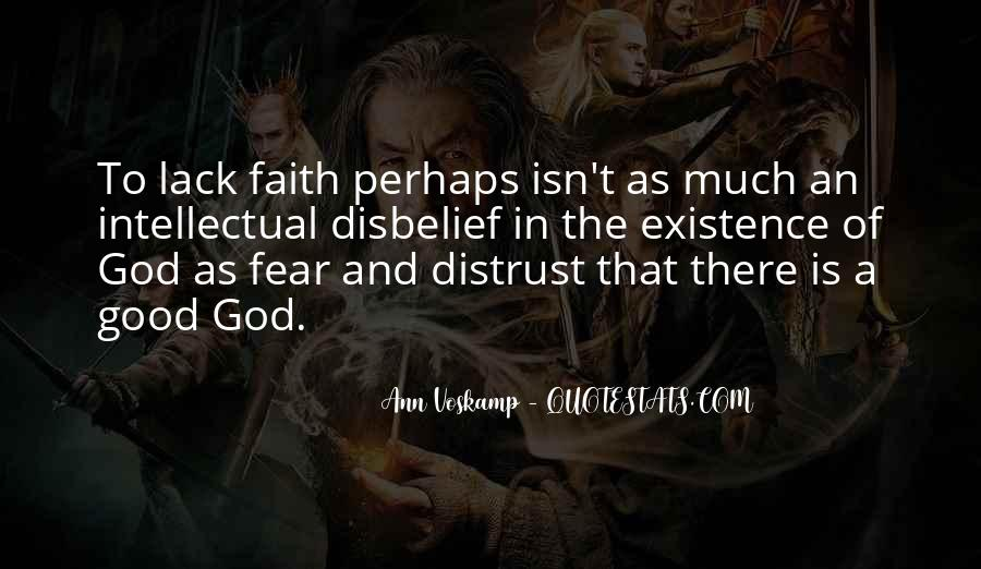 Quotes About Fear And God #325018