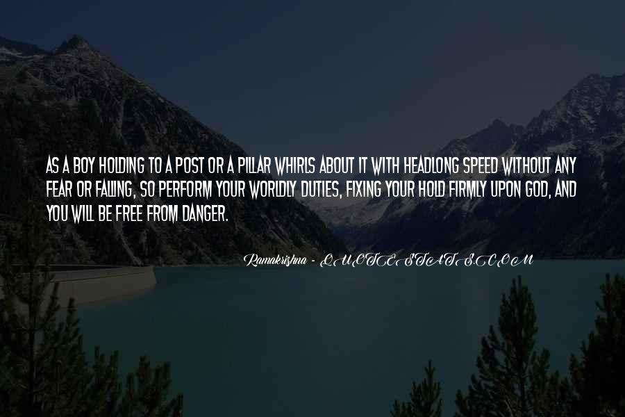 Quotes About Fear And God #327172