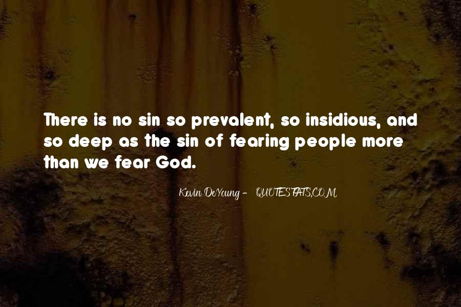 Quotes About Fear And God #346478