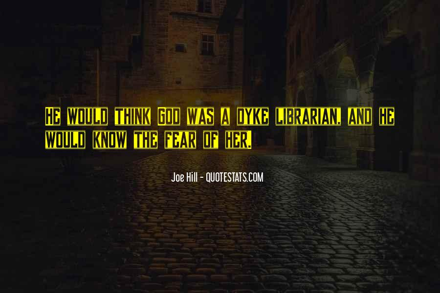 Quotes About Fear And God #349883