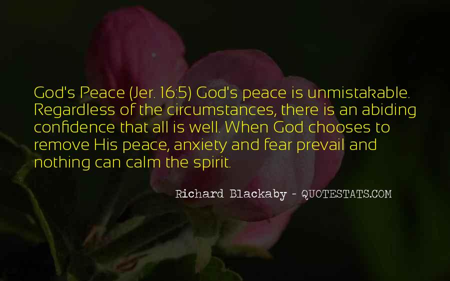 Quotes About Fear And God #76357