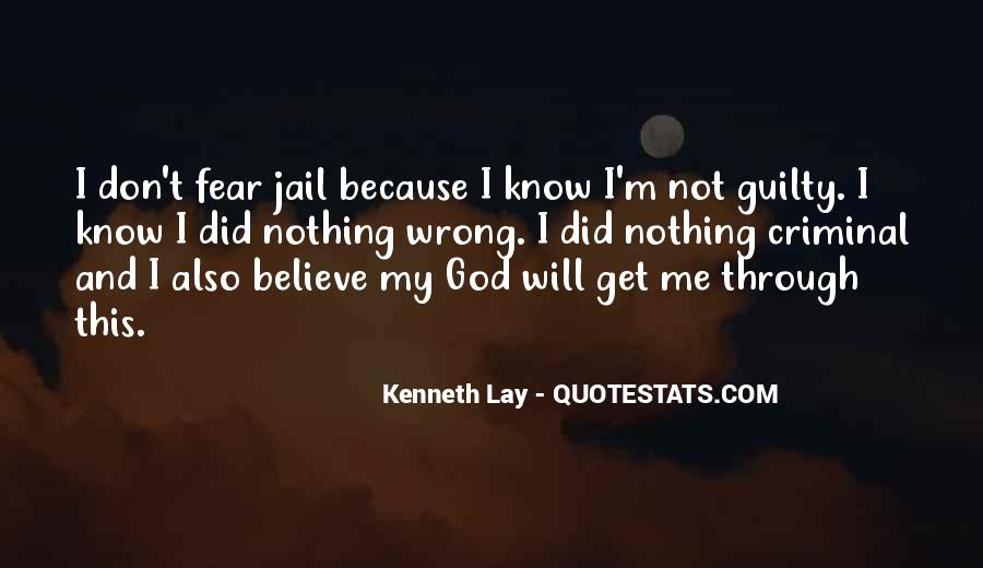 Quotes About Fear And God #79282
