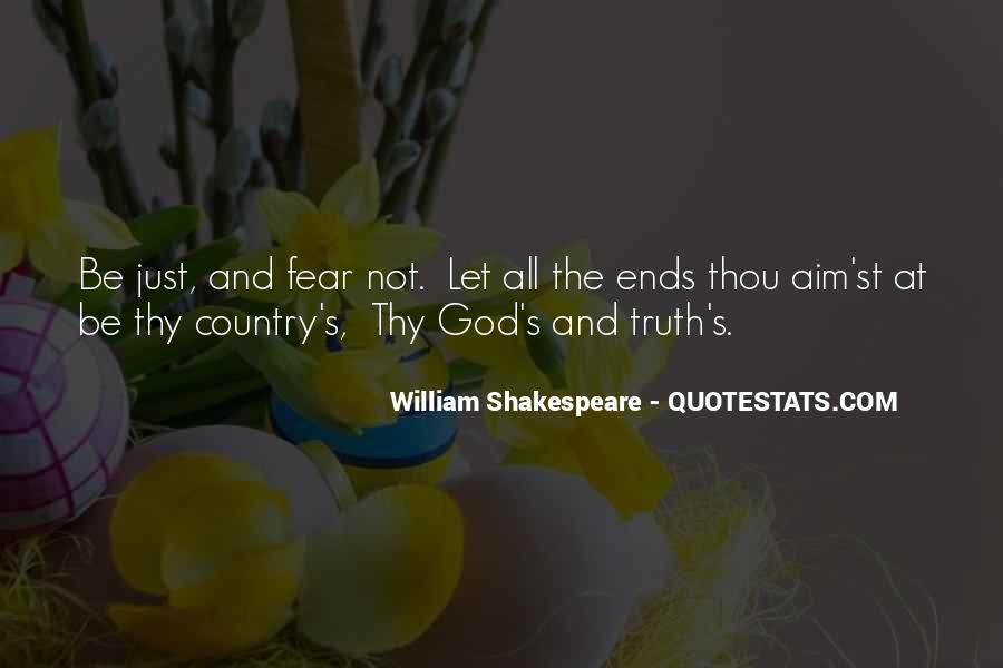 Quotes About Fear And God #94678