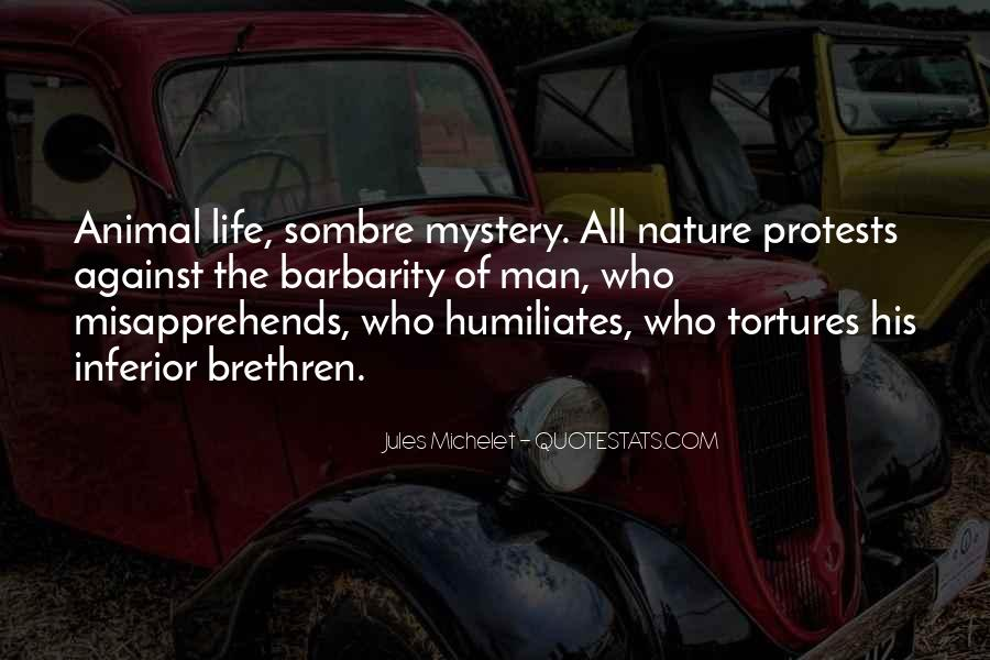 Quotes About Life Nature #17414