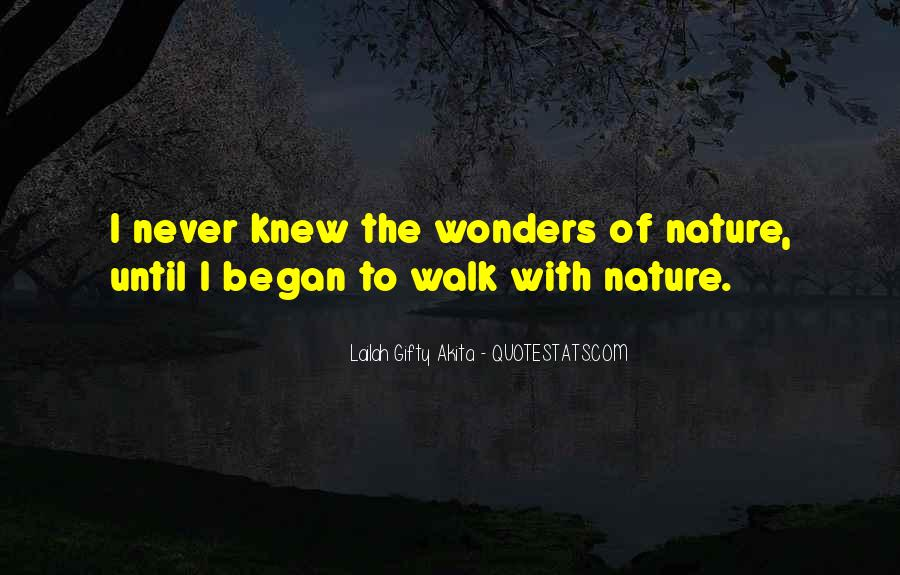 Quotes About Life Nature #34143