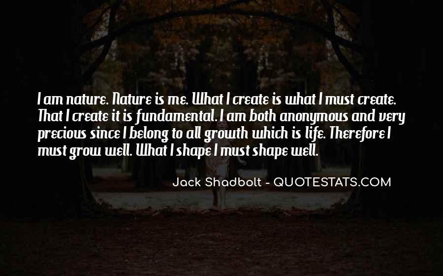 Quotes About Life Nature #64994