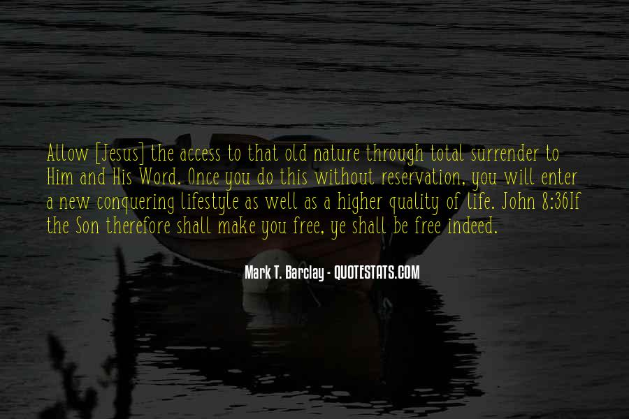 Quotes About Life Nature #70059