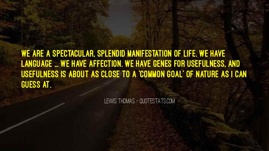 Quotes About Life Nature #7111
