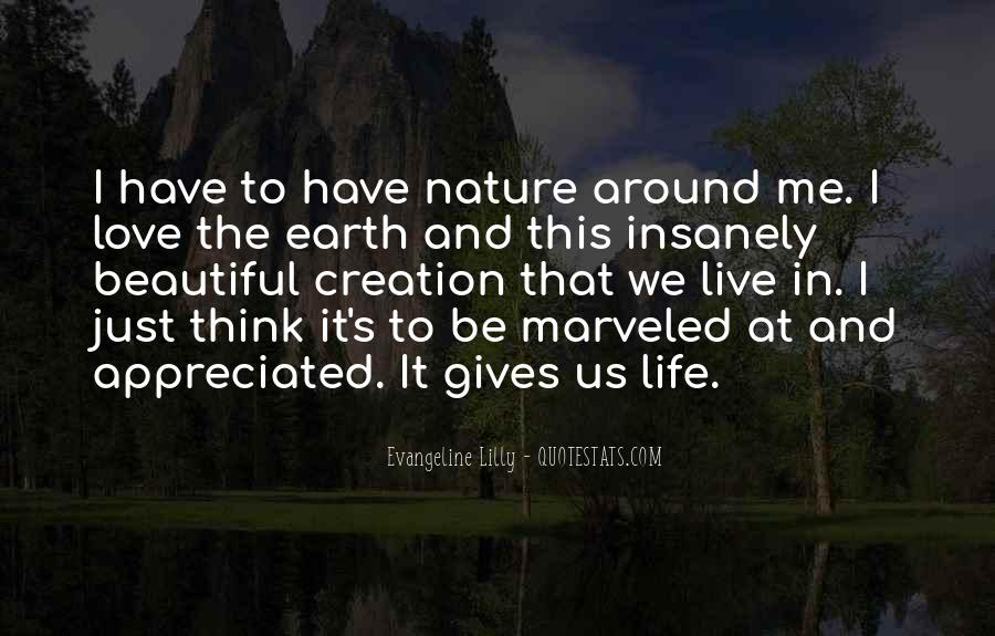 Quotes About Life Nature #74190