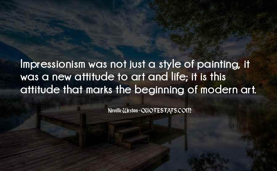 Quotes About Impressionism #1316200