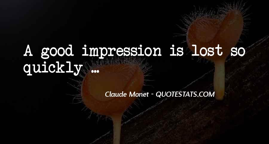 Quotes About Impressionism #1466176