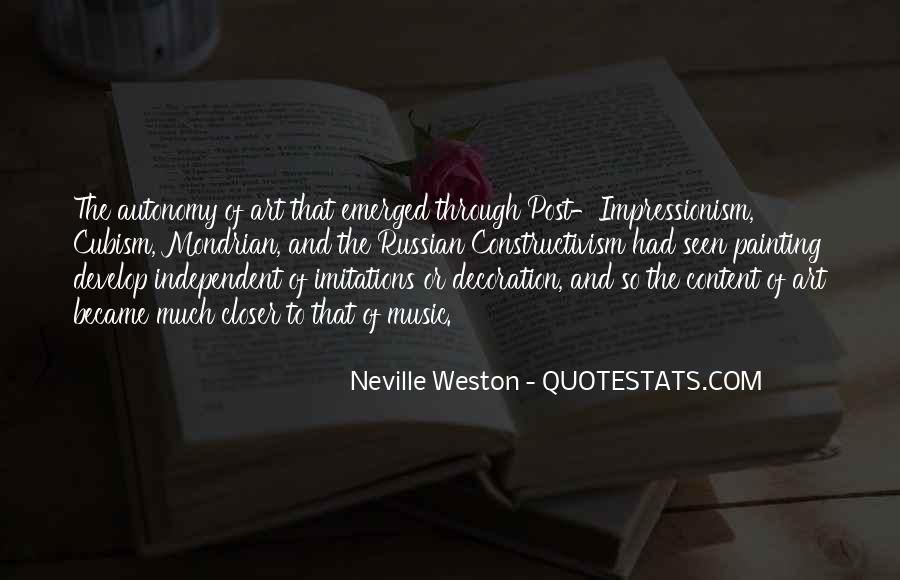 Quotes About Impressionism #327182