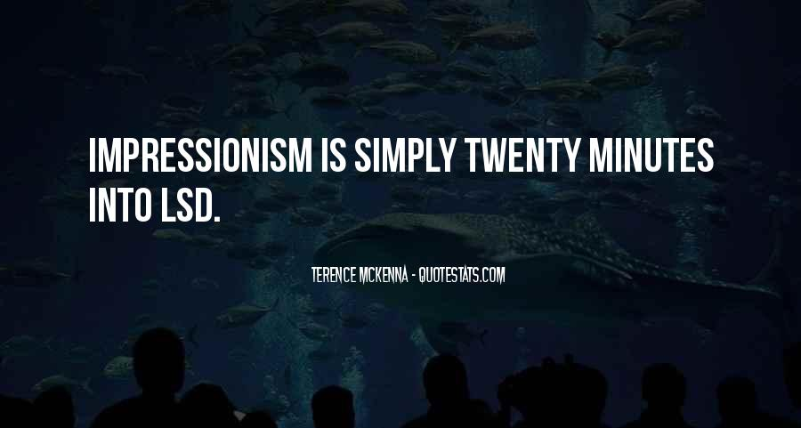 Quotes About Impressionism #52600