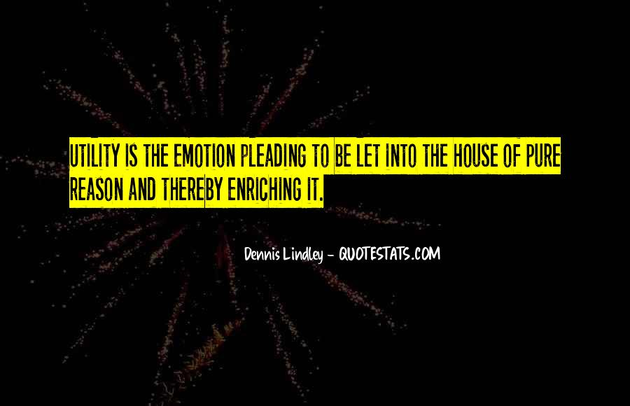 Quotes About Emotion Over Reason #268516