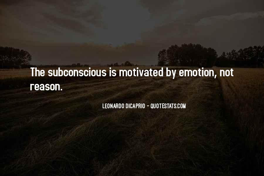 Quotes About Emotion Over Reason #298033