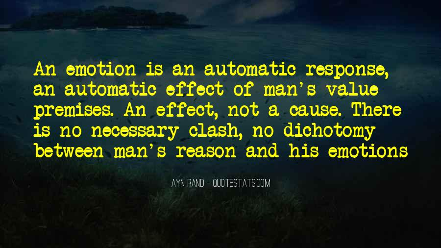 Quotes About Emotion Over Reason #318616