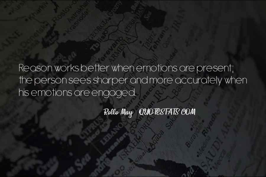 Quotes About Emotion Over Reason #427575