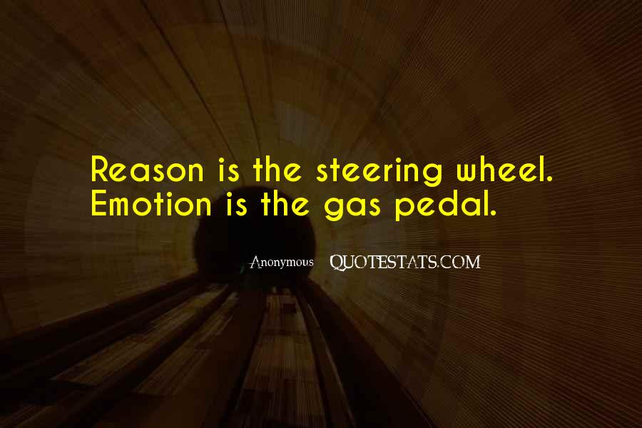 Quotes About Emotion Over Reason #71176