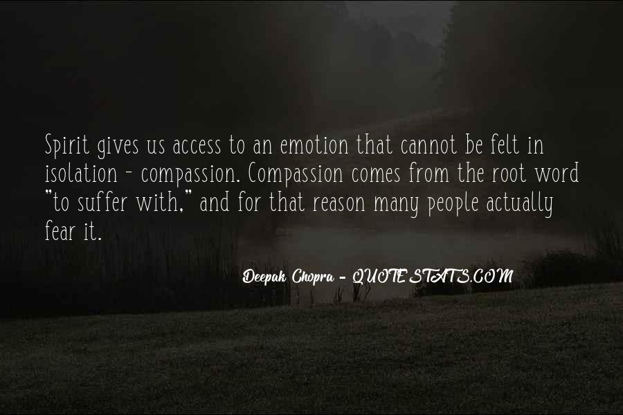 Quotes About Emotion Over Reason #85973