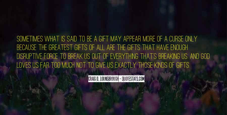 Quotes About Change And Breaking Up #1042385