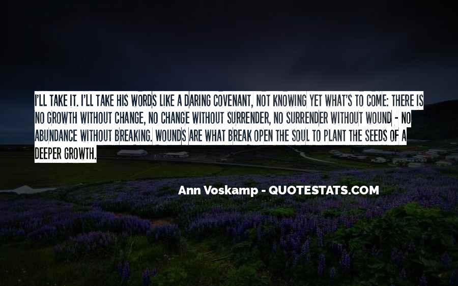 Quotes About Change And Breaking Up #1345540