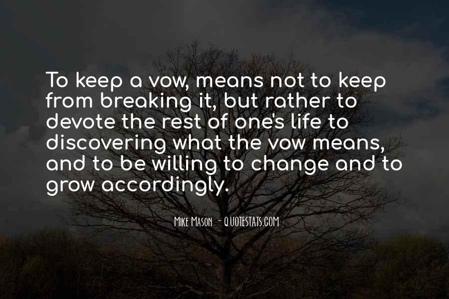 Quotes About Change And Breaking Up #1534270