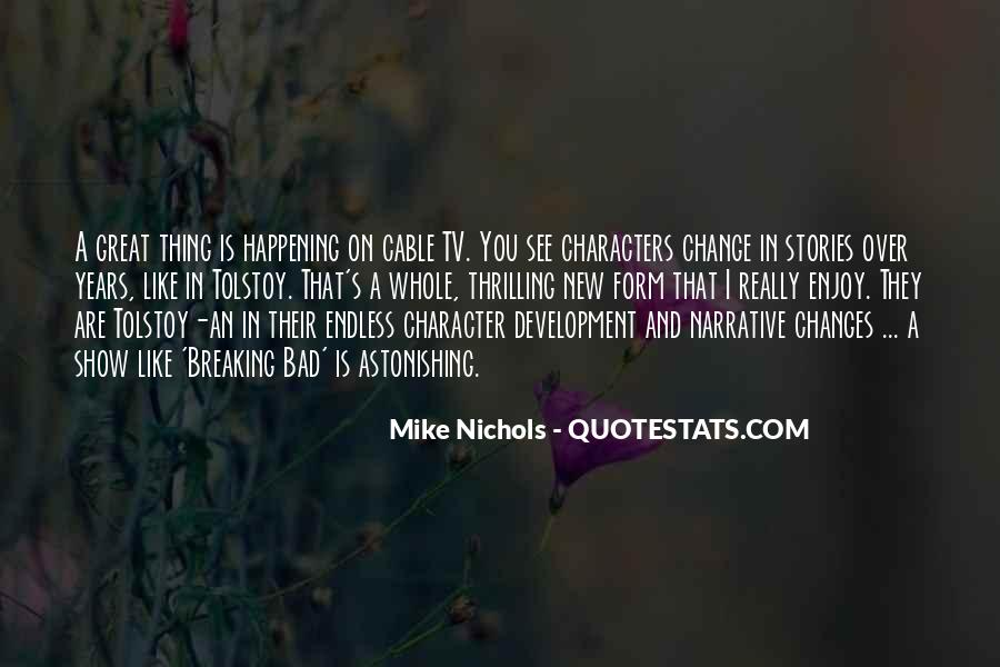 Quotes About Change And Breaking Up #681890