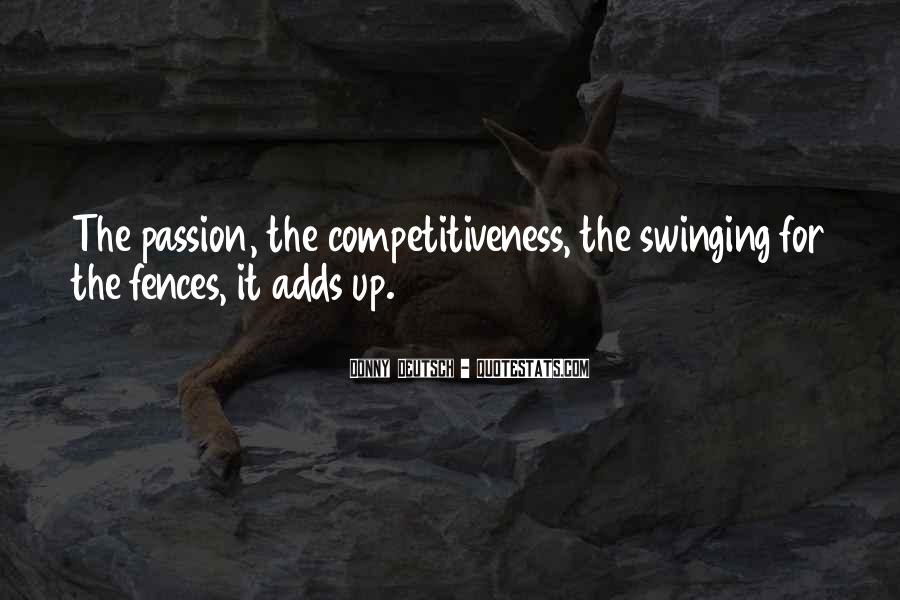 Quotes About Swinging For The Fences #1512197