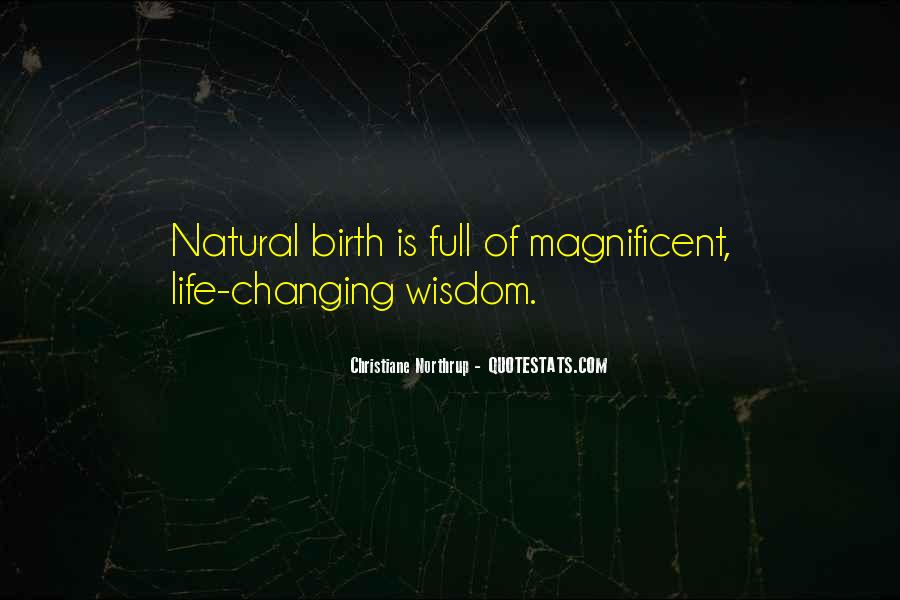 Quotes About Natural Birth #694185
