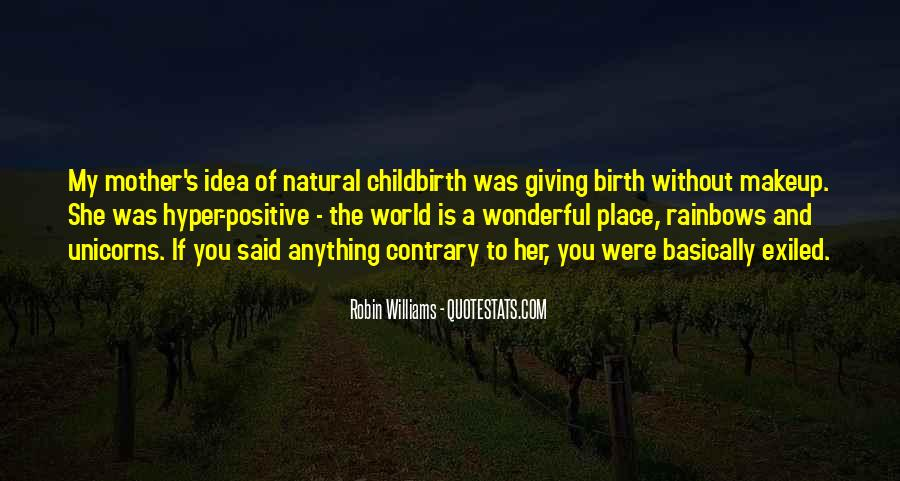 Quotes About Natural Birth #75391