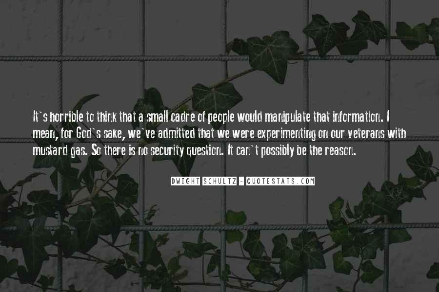 Quotes About Cadre #1861103