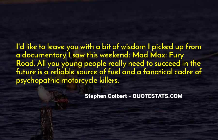 Quotes About Cadre #290154