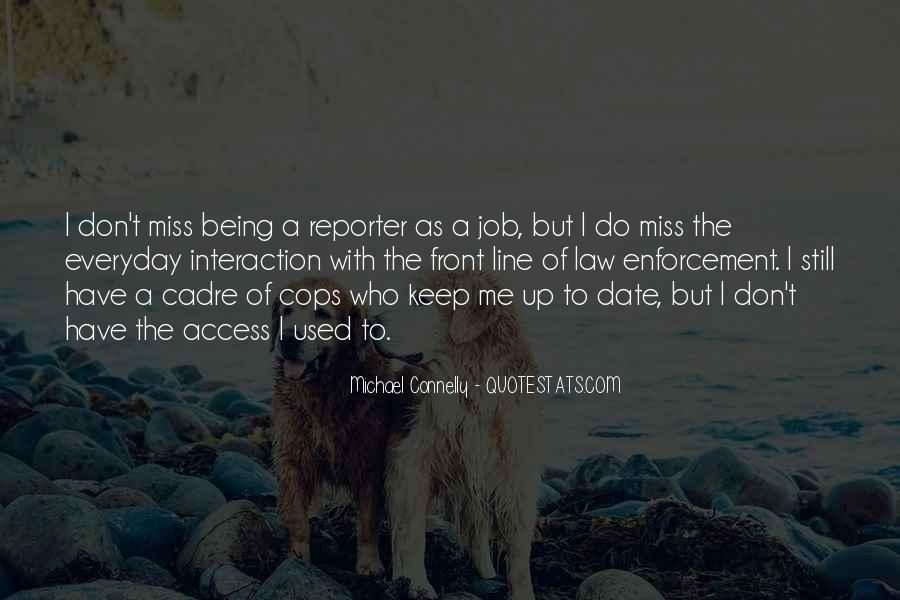 Quotes About Cadre #427757
